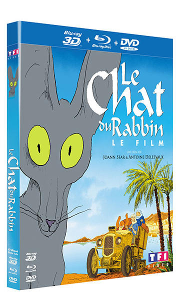 Blu Ray Le Chat du Rabbin